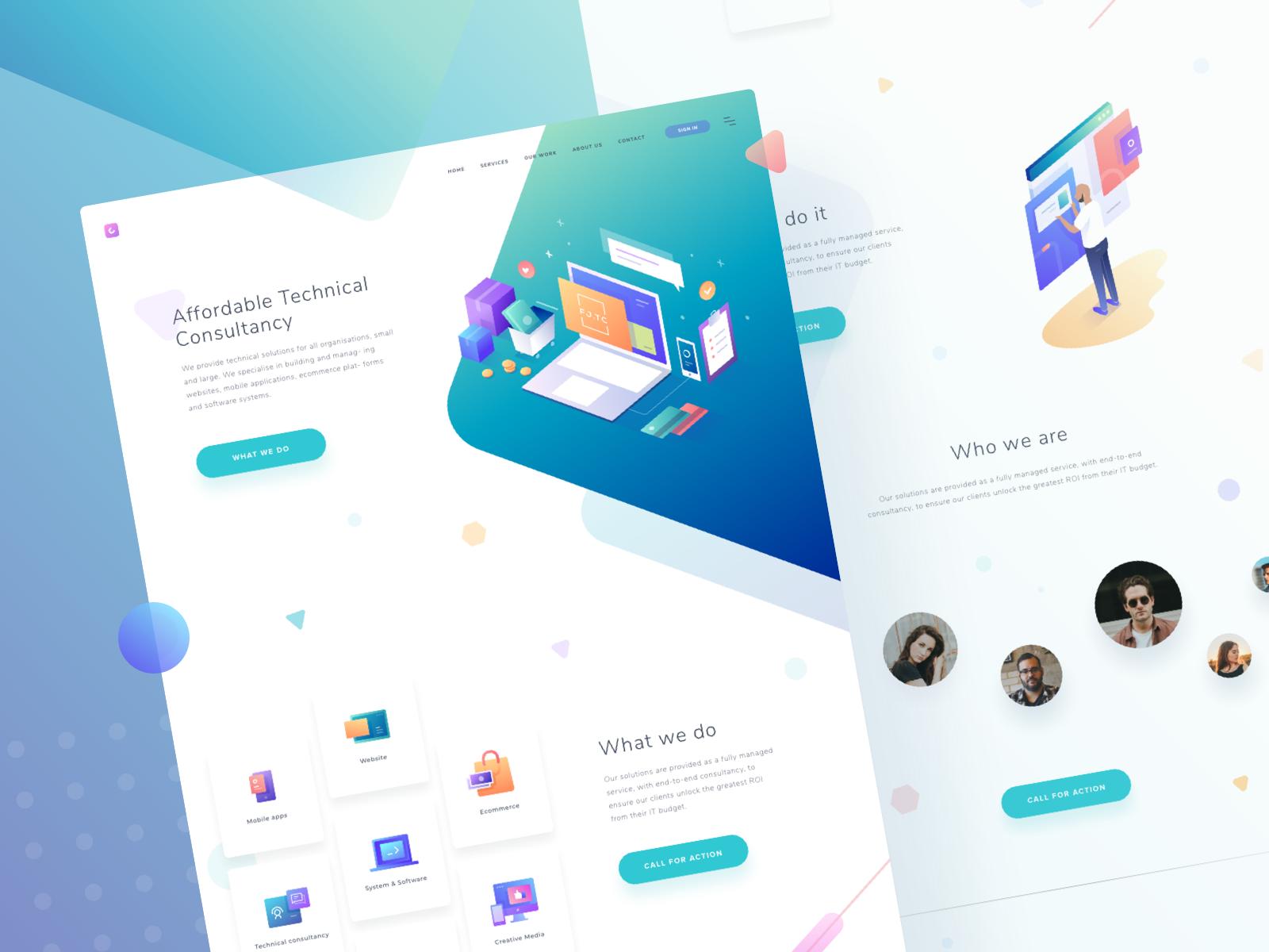 Tc Homepage Design Homepage Design Web Design Design