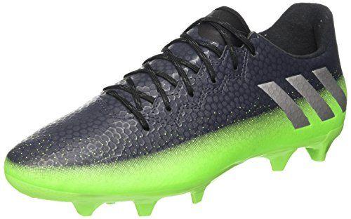 competitive price 00294 c1fd3 adidas Messi 16.3 FG, Botas de Fútbol para Hombre, Gris (Griosc   Plamet    Versol), 45 1 3 EU