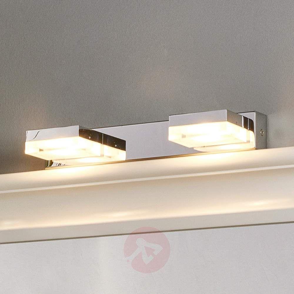 Spectacular LED Wandlampe Elona f rs Badezimmer