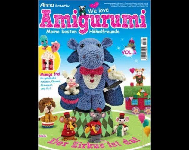Häkeln Amigurumi, Bücher & Zeitschriften gebraucht kaufen | eBay ... | 500x628