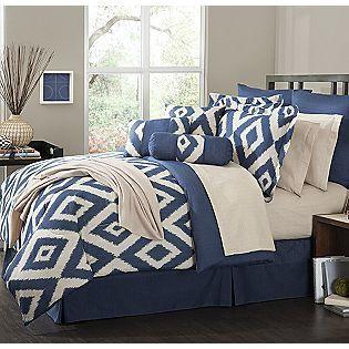 The Great Find 16 Piece Comforter Set Durham 79 99 Bedroom Comforter Sets Comfortable Bedroom Bedding Master Bedroom Navy and white comforter set queen