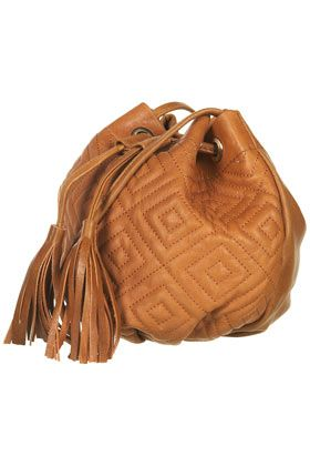 topshop quilted leather bag