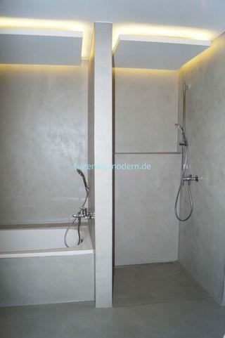 Bad Und Dusche Fugenloses Bad Dusche Renovieren Dusche Beleuchtung