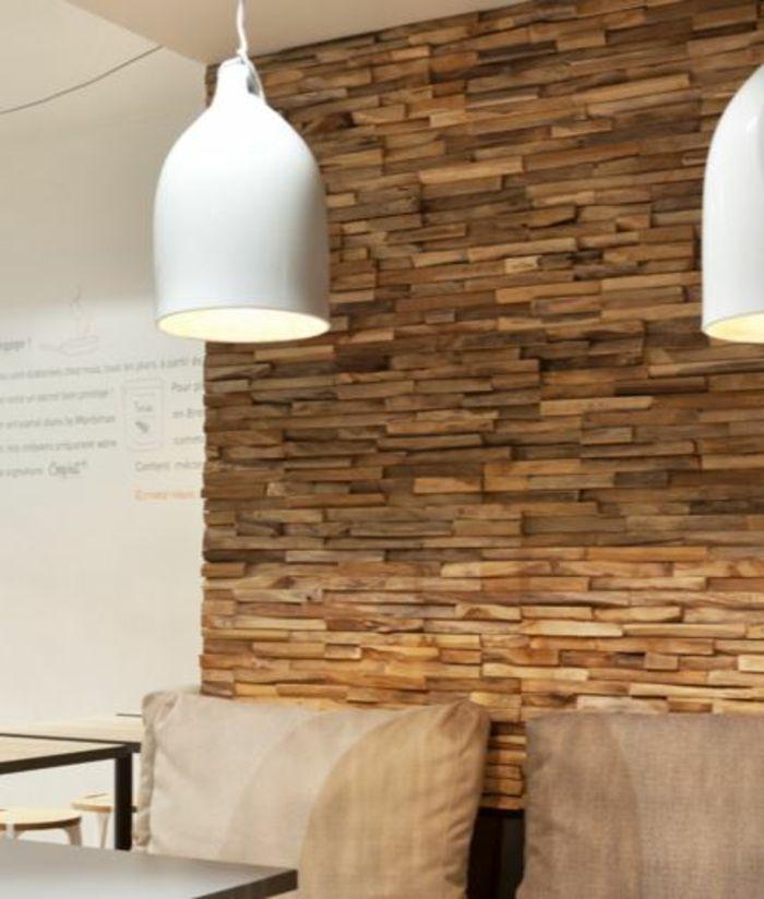 Kreative Wandgestaltung Holzverkleidung Innen Deko Ideen Fragment