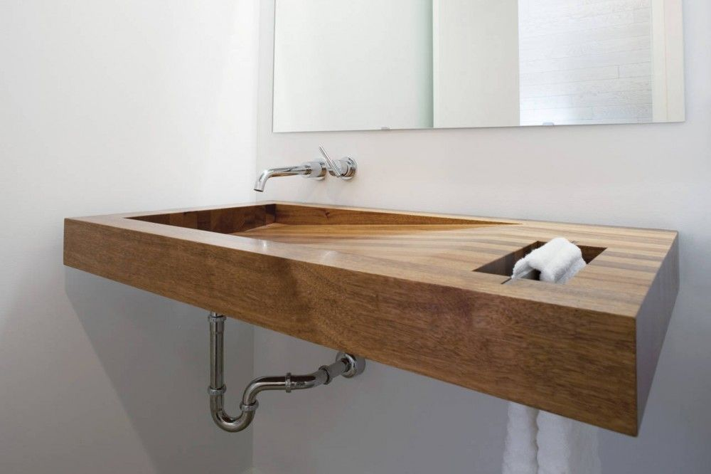 Postcard House / Hufft Projects  awesome sink