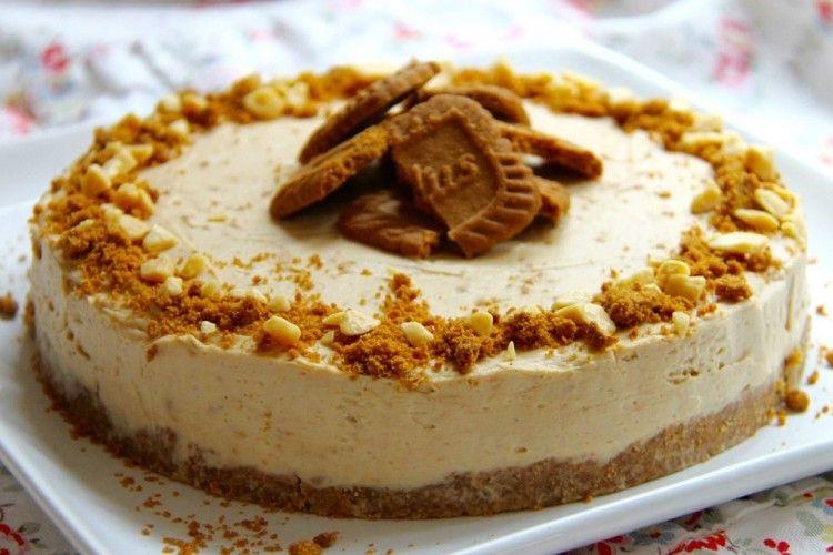 يعتبر تشيز كيك اللوتس من أطباق الحلويات المميزة يقدم كطبق تحلية بارد يعتمد بشكل أساسي ع Cheesecake Cheesecake Recipes Biscoff Cookie Butter