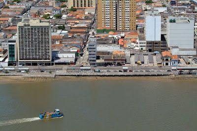 Vista Aerea Do Rio Sergipe E Da Avenida Rio Branco Aracaju Com