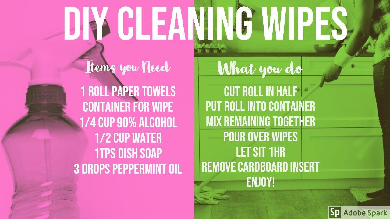 DIY Cleaning Wipes Diy cleaning wipes, Cleaning wipes