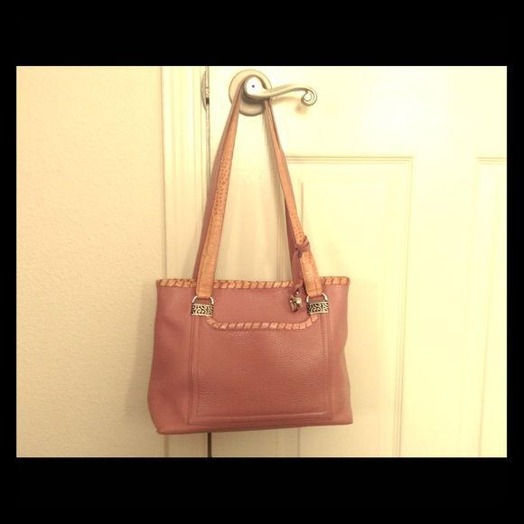 How to clean brighton leather purse