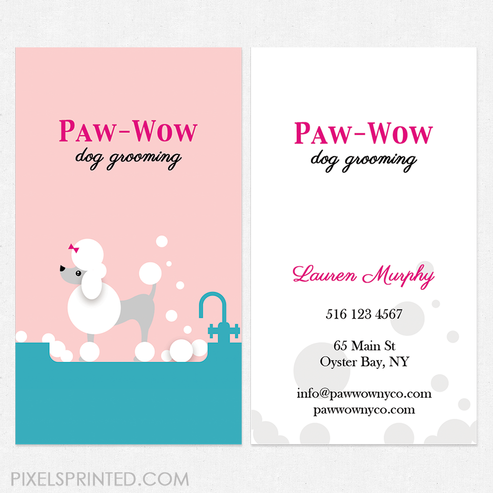 dog walker cards, dog sitter cards, dog sitting cards, dog grooming ...