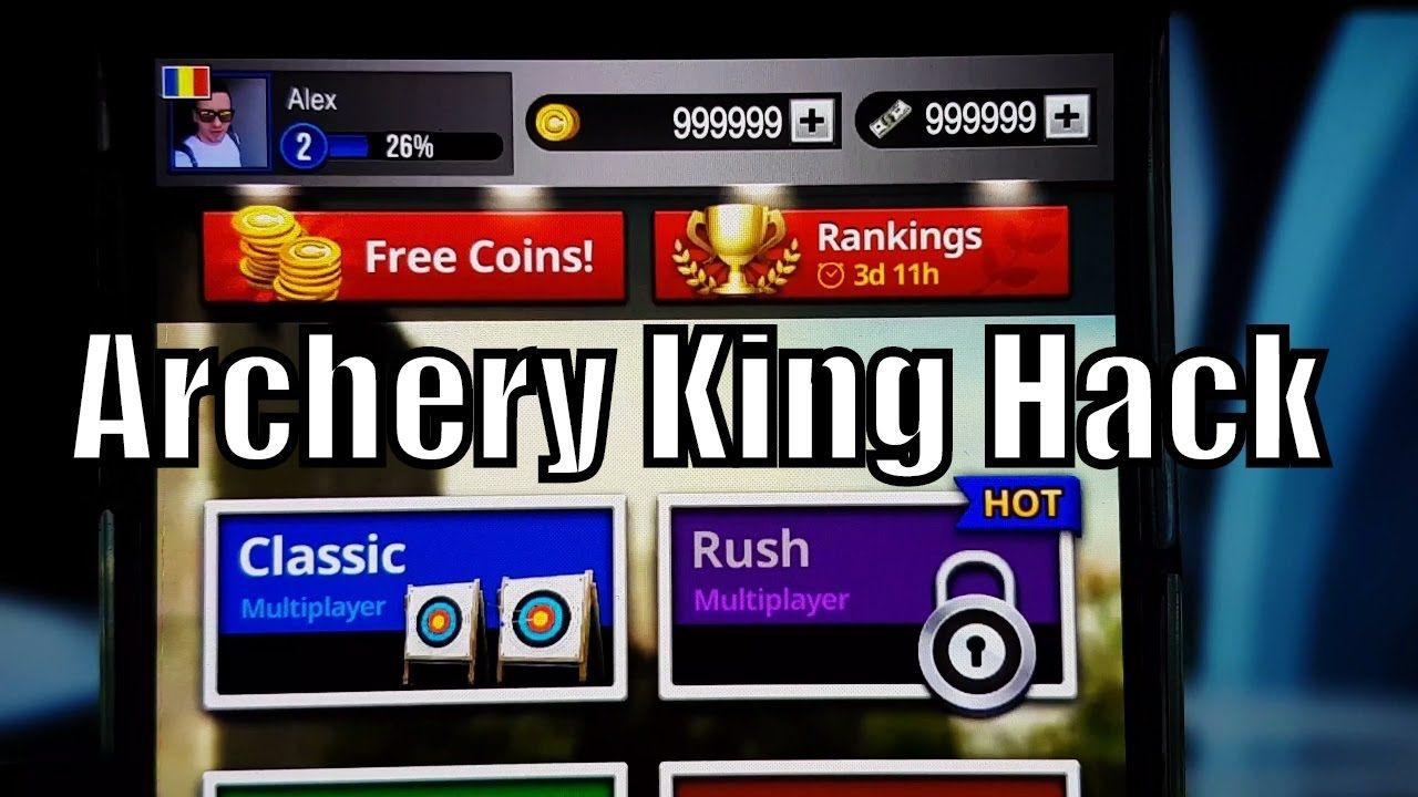 Archery King Hack How To Get Unlimited Cash And Coins Archery