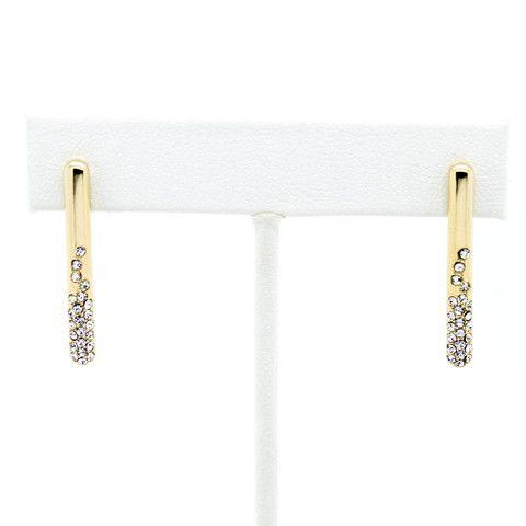 Bar stone earrings – Imsmistyle.