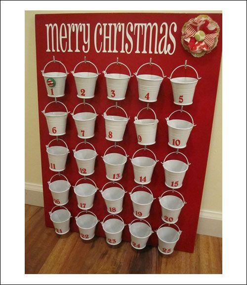 Image result for make an advent calendar Christmas Pinterest