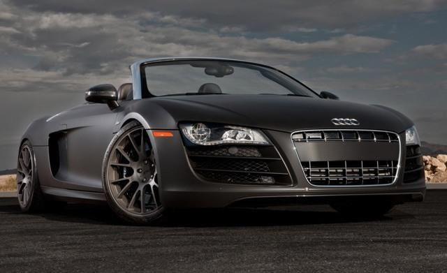 Audi R8 Spyder 3 In Matte Black 3 Wantanr8 3 Audi R8 Spyder Black Audi Audi