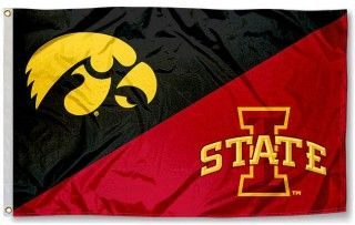 House Divided Flag Iowa Vs Iowa State With Images House