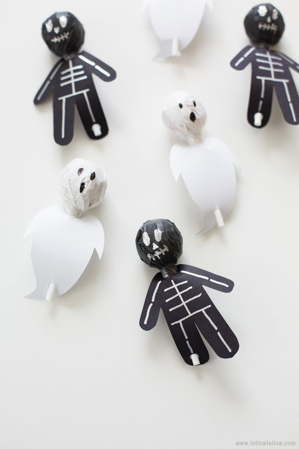 diy spook pops halloween crafts basteln zu halloween basteln craft halloween party. Black Bedroom Furniture Sets. Home Design Ideas