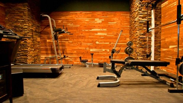 A Nice Home Gym! Bunch Of Ideas Here! From Modern Home GYM Interior Design