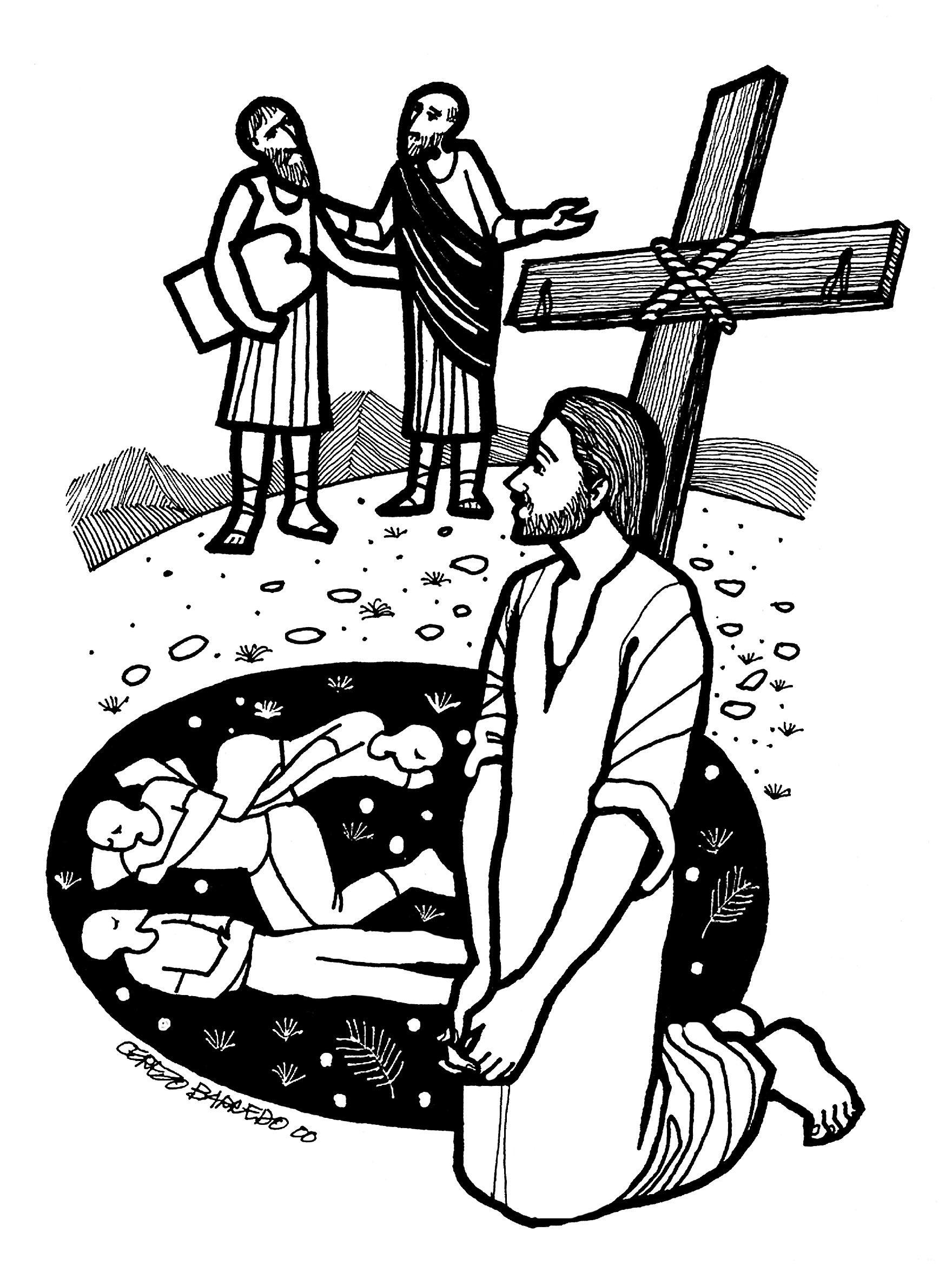 Evangelio Del Día Lecturas Del Domingo 21 De Febrero De 2016 Evangelio Del Dia Evangelio Segun San Lucas Evangelio