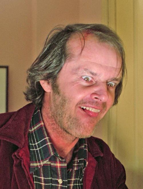 JACK NICHOLSON ~ The Shinning | Film | Pinterest | Jack niclson ...