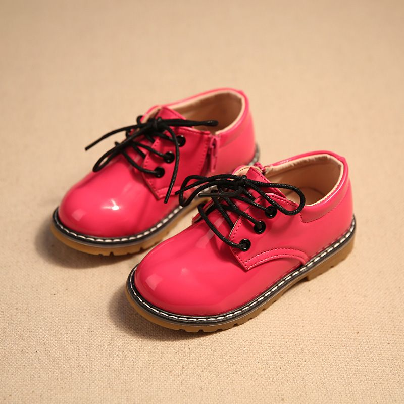 456758c2679 children shoes 2017 spring and autumn tide models bulk Liangpi leather  boots children boys children girls fashion shoes children
