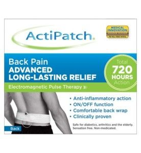 On Lupus Interrupted, a review of the ActiPatch electromagnetic pulse therapy Back Pain product. #health #fibromyalgia #lupus #chronicpain #arthritis