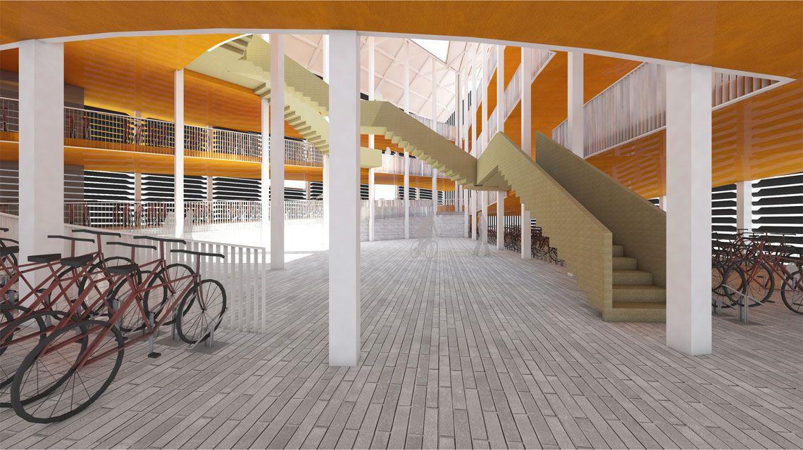 Dit Wordt Het Nieuwe Station Zaandam De Orkaan Architecten Gebouwen Bouwtekening