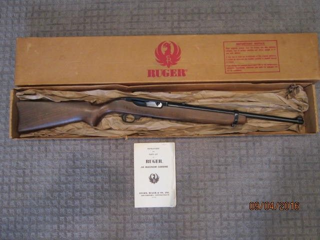 44 Magnum Semi Auto Rifle