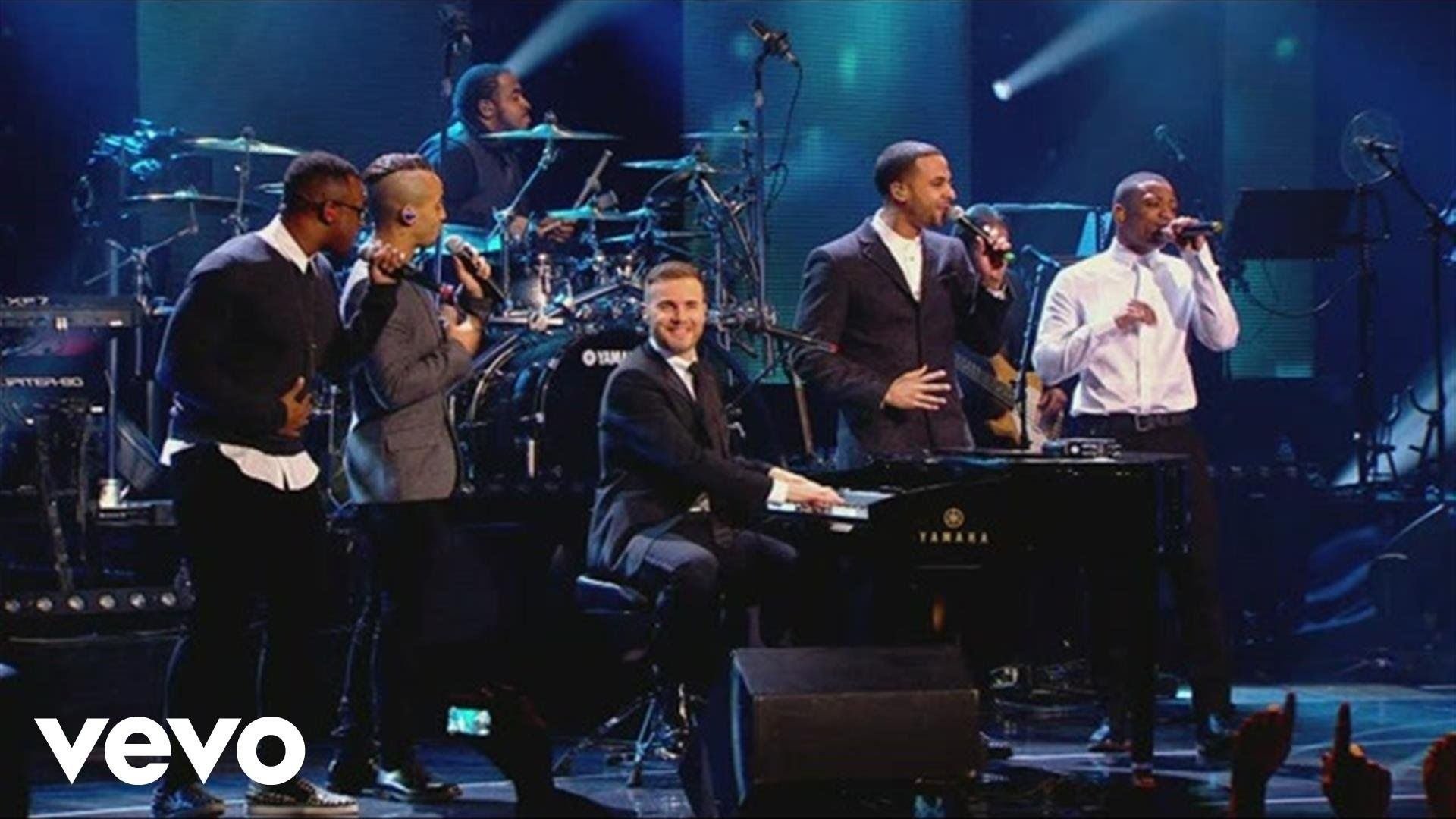Gary Barlow - Back For Good ft  JLS | Songs that move me