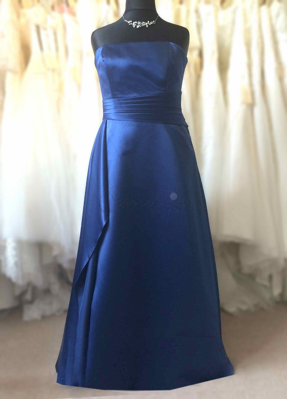 Royal blue bridesmaid dress duzage sample sale pinterest