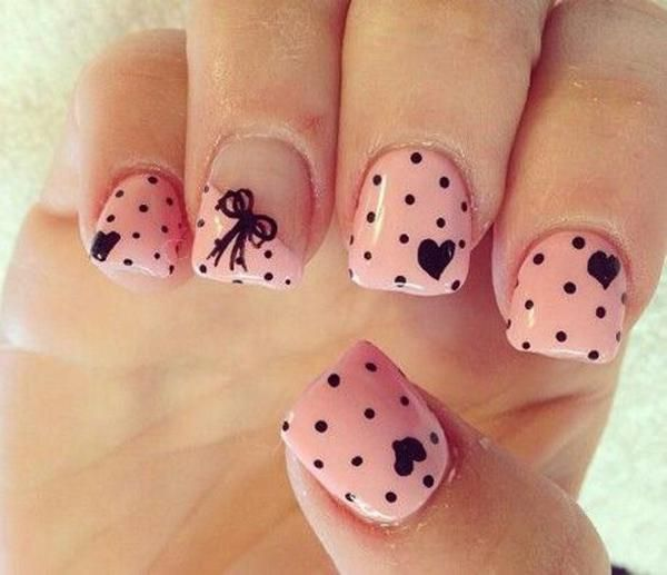 50 Valentine's Day Nail Art Ideas | Cuded