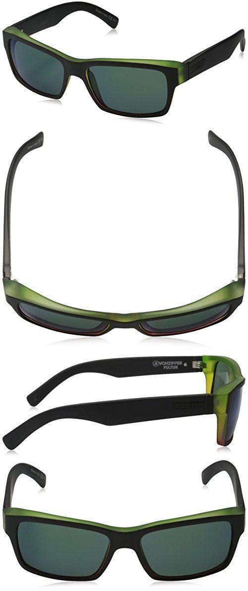 1fa92af2d00 VonZipper Fulton Rectangular Sunglasses