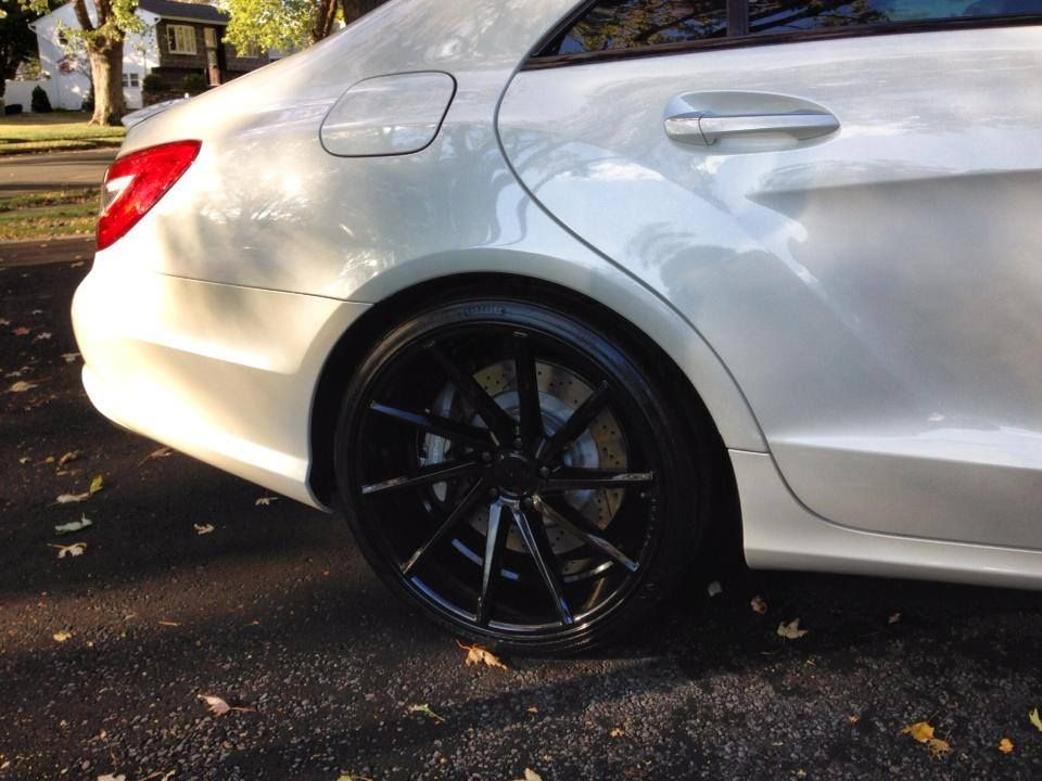 2012 CLS63 on Powder Coated CVT Exotic cars, Car pictures