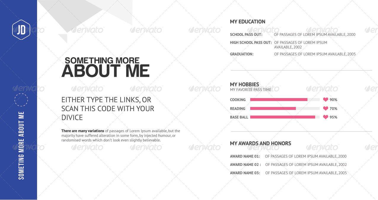 The Ultimate Creative Pocket Resume Resume Creative Certificate Templates