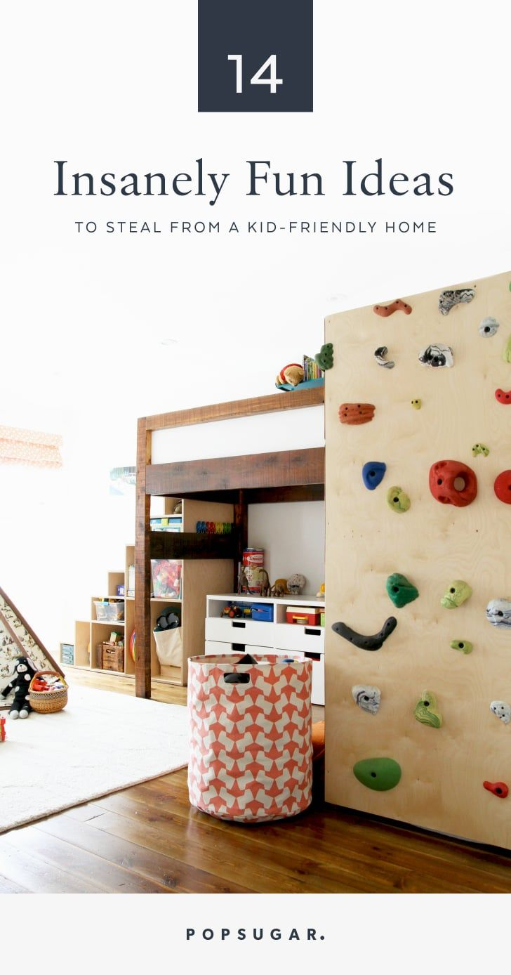 14 Insanely Fun Ideas to Steal From a Kid-Friendly Home images
