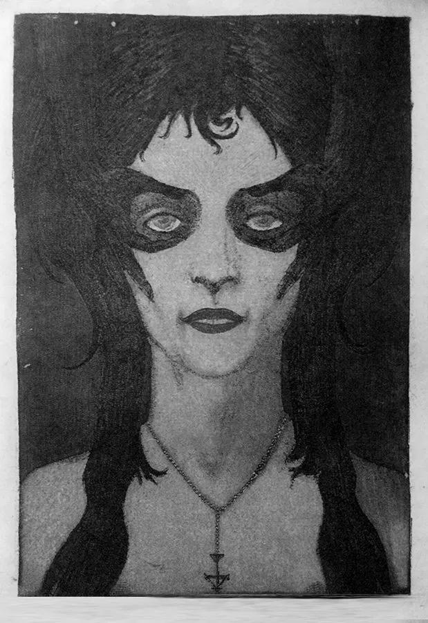 The Flower of Evil Berthe de Courrière, Satanic Woman of