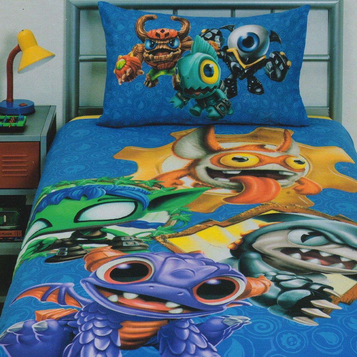 Skylanders Quilt Cover Set Quilt Cover Sets Quilt Cover Kids