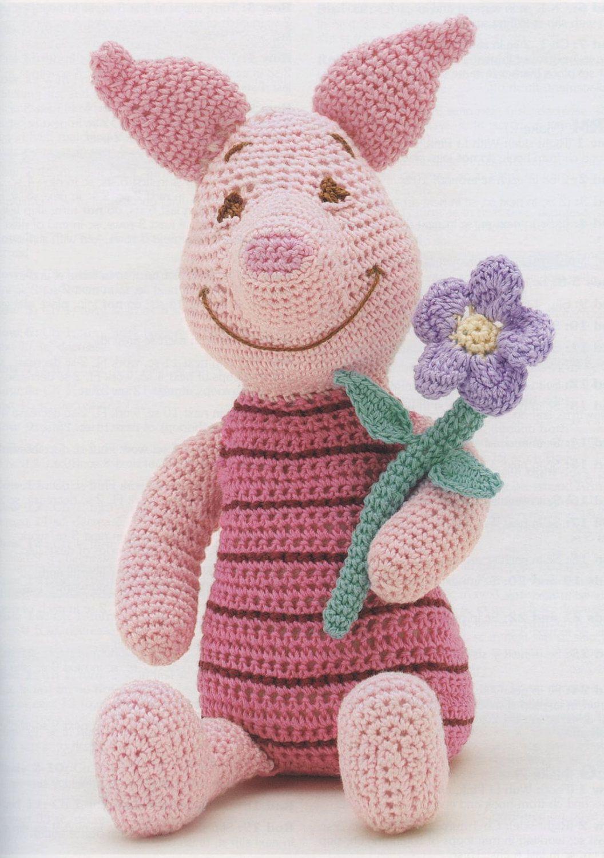 Disney Piglet Crochet Pattern Instant Download   really job ...