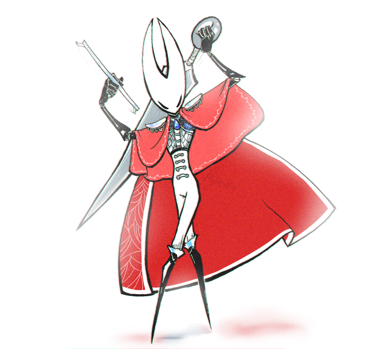 See A Recent Post On Tumblr From Doodledrawsthings About Hk Hornet Discover More Posts About Hk Hornet Hollow Art Hollow Night Character Design Inspiration