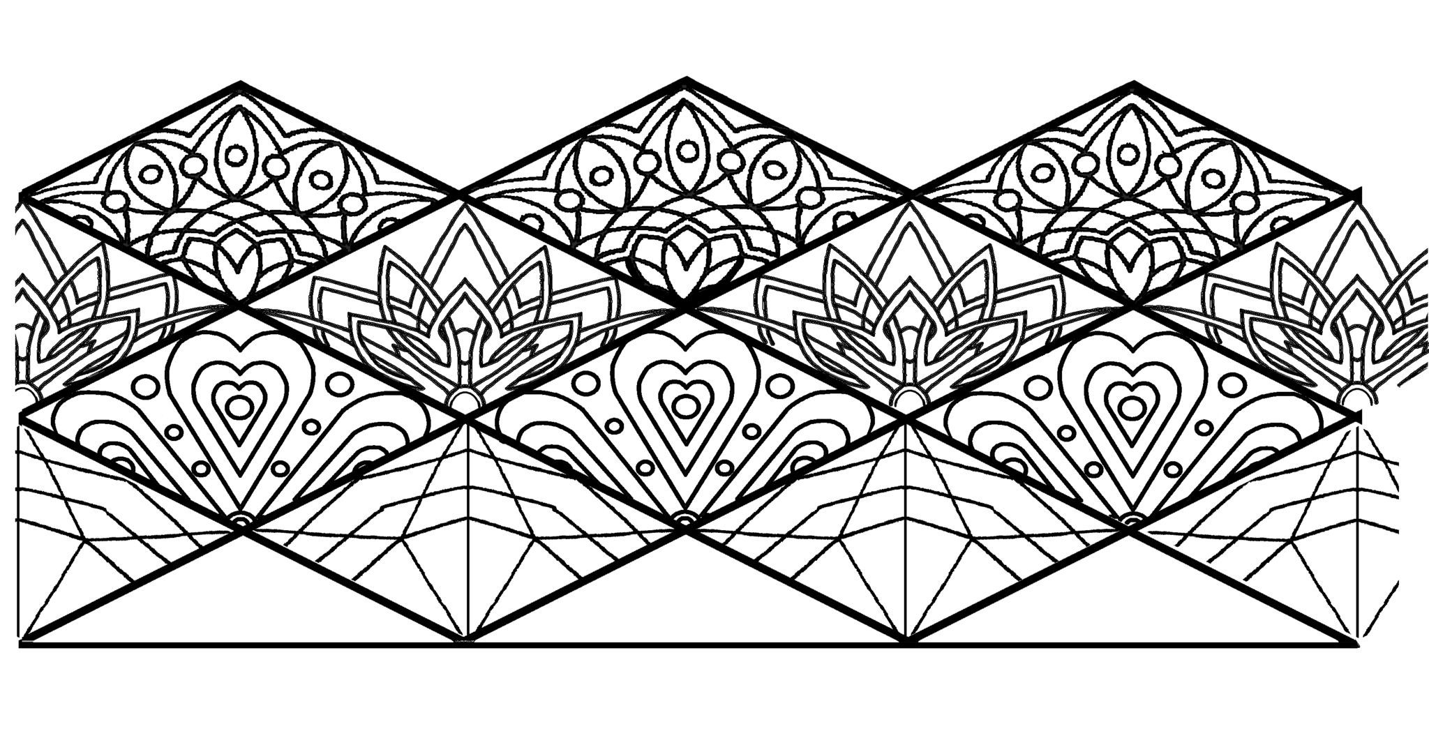 Mandala Flextangle Template