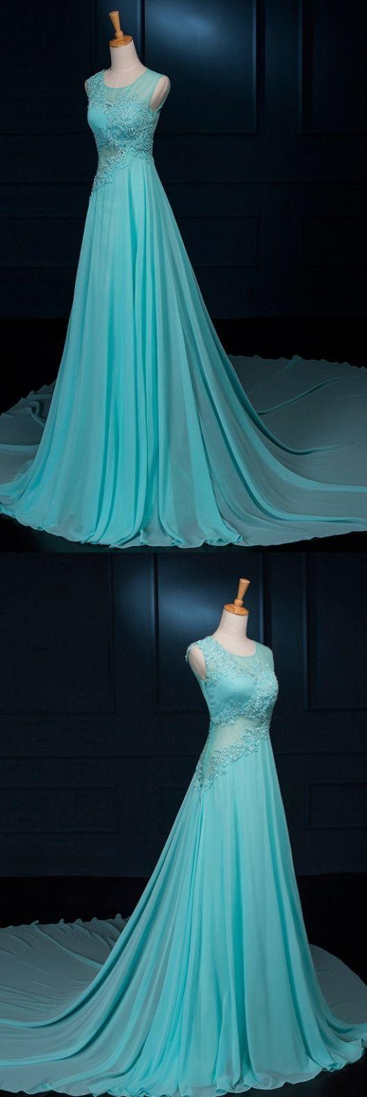 Beadedbeading prom dresses light blue alineprincess prom dresses
