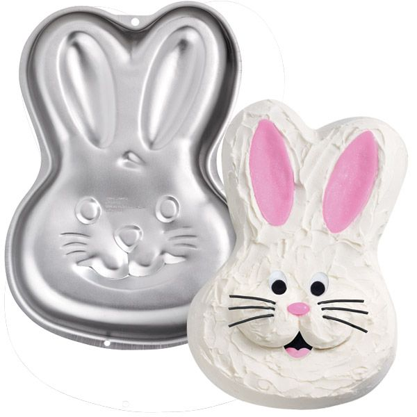 Bunny Pan By Wilton Character Amp Wilton Shaped Pans Cakes