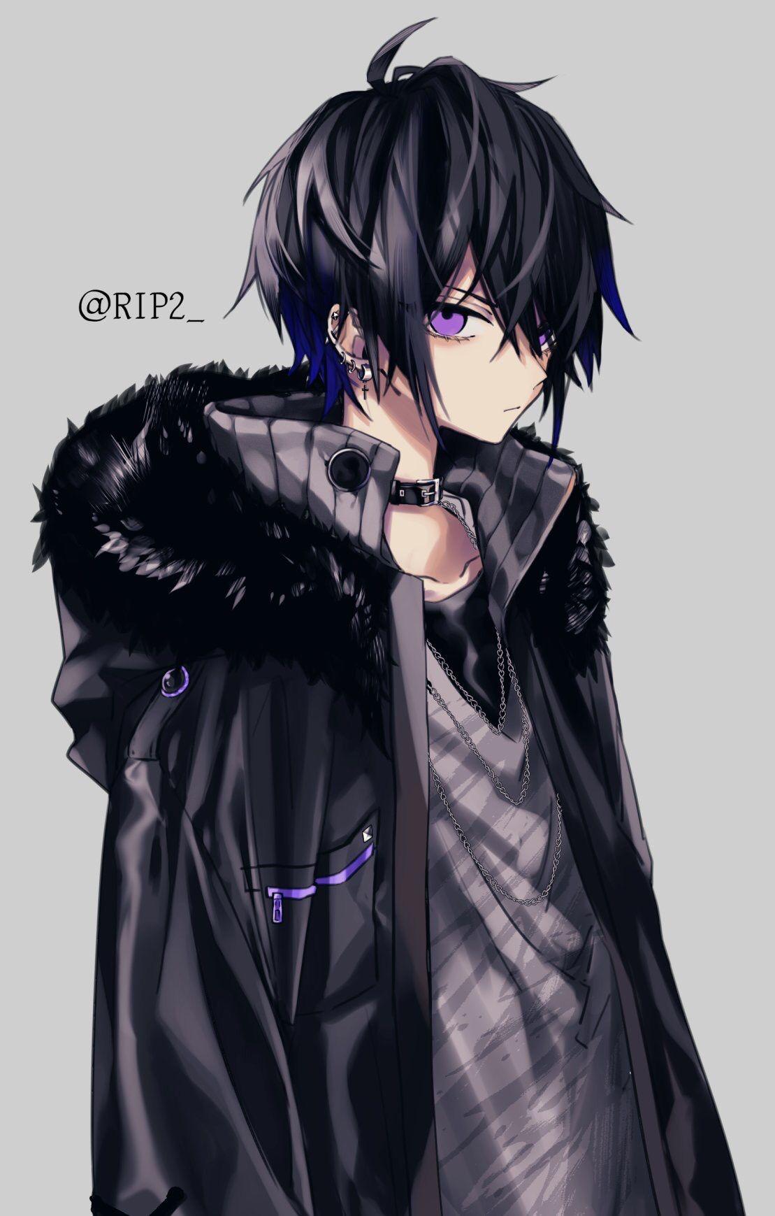 Pin By Wai On Anime Boy Dark Anime Guys Dark Anime Anime Guys