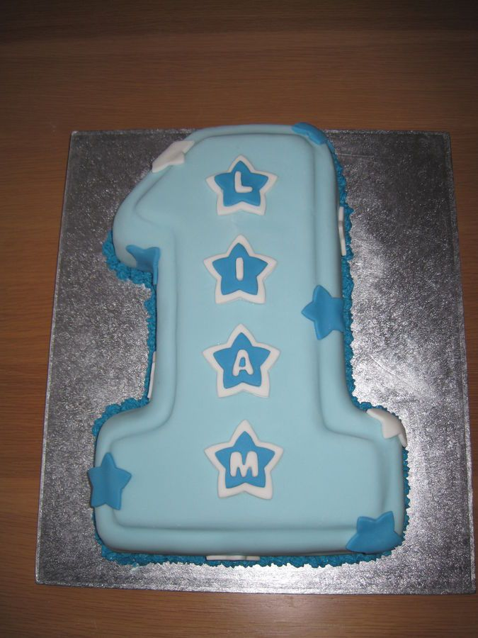Use Wilton 1 Cake Pan For Easy 1st Birthday