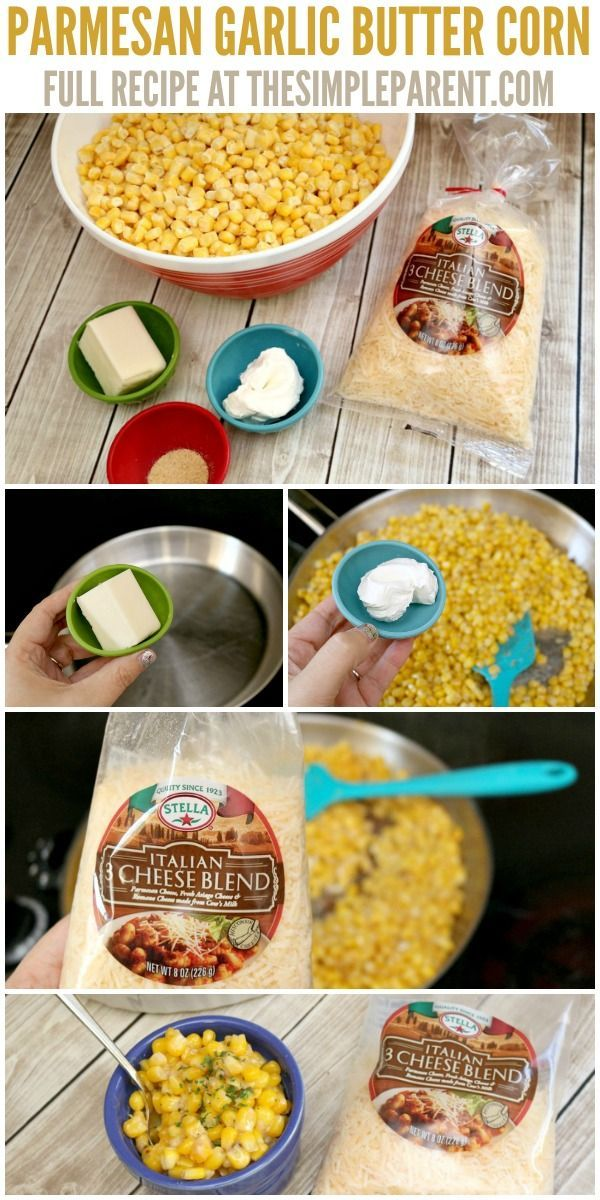 parmesan garlic butter corn is one of our favorite easy christmas side dishes learn how - Christmas Side Dishes Pinterest