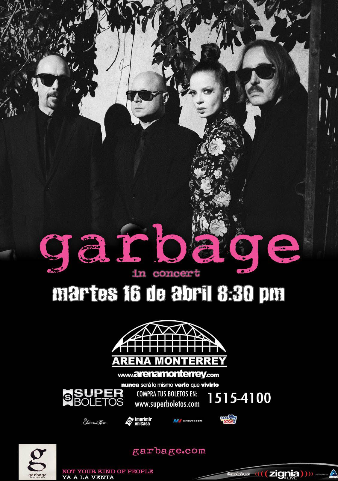 Garbage Band Posters Concert Posters Concert