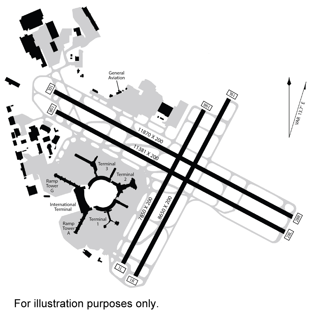 Sfo airport diagram airnav project pinterest sfo airport diagram pooptronica Gallery