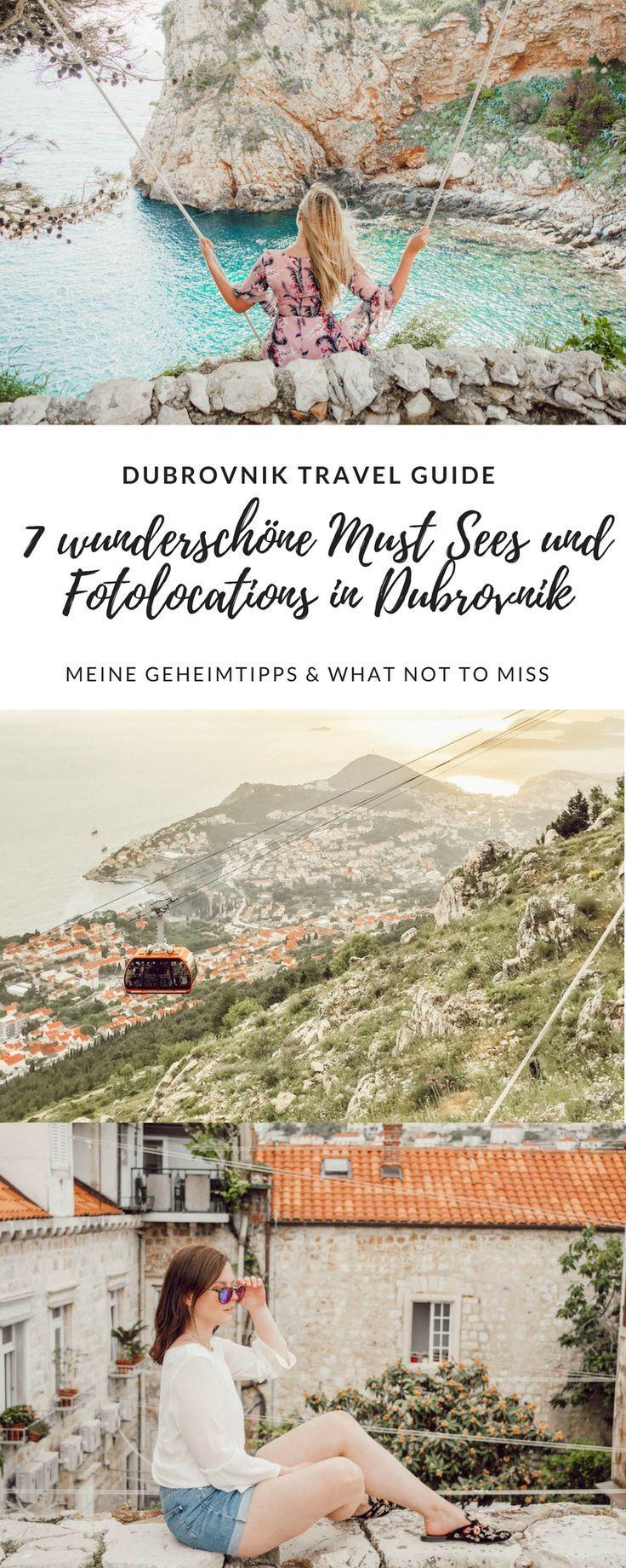 Guía de viaje de Dubrovnik: 7 hermosos lugares para tomar fotos y visitas obligadas en Dubrovnik – Seven & Stories