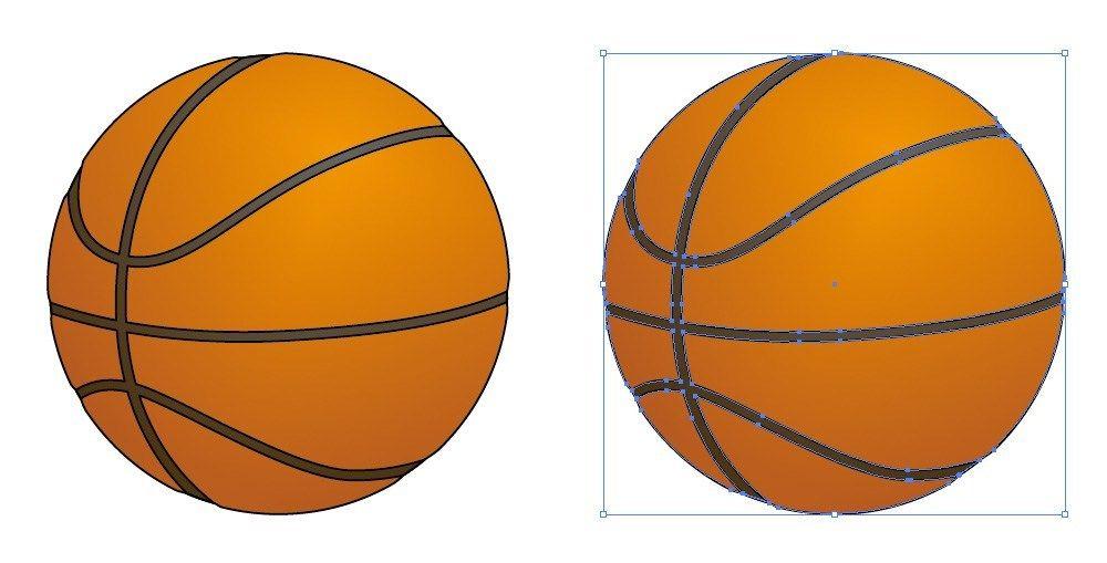 バスケットボールのイラスト 無料配布 イラレ イラストレーター ベクトル パスデータ保管庫 Ai Eps ベクター素材 バスケットボール イラスト イラストレーター