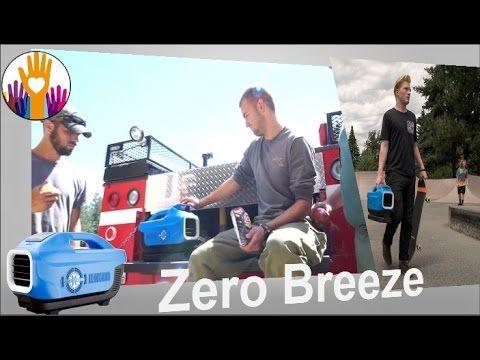 New invention Zero Breeze - portable air conditioner, stay