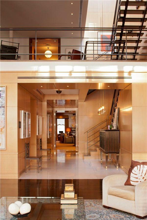 Contemporary interior design modern luxury interior design in gorgeous new your duplex interior